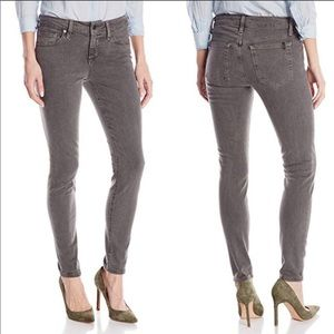 Joe's jeans gray wash skinny ankle jeans